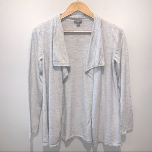 J. Jill Open Front Cardigan Sweater